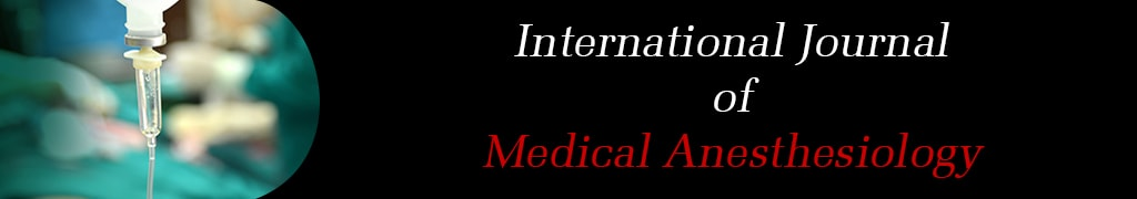 International Journal of Medical Anesthesiology